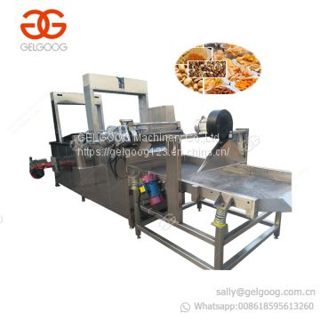 Professional Potato Chips Plantain Chips Onion Ring Fryer Pork Rind Skins Shrimp Prawn Fish Frying Machine