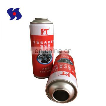 aerosol tins for silicone spray for refillable solvents diameter 52mm