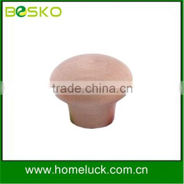 Hot sale high quality nature wood door knob from factory