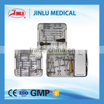 CE 0434 Approved Type I Calcaneous Locking Plate, Foot Titanium LCP, Orthopedic Implant Calcaneous Plate