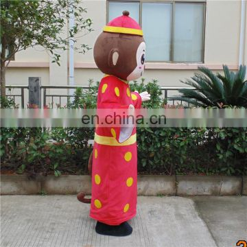 online shop hot sell new year monkey mascot costumes