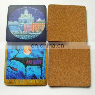advertising logo printing dubai cork coaster