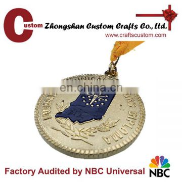 Custom award medal/trophies and medals china/medal and trophy holder