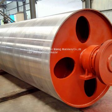 pope reel drum for paper machine