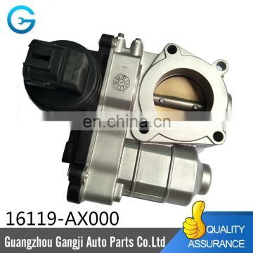Factory Price Throttle Body Assembly 16119-AX000 FOR 2003-2010 NI SSAN MICRA