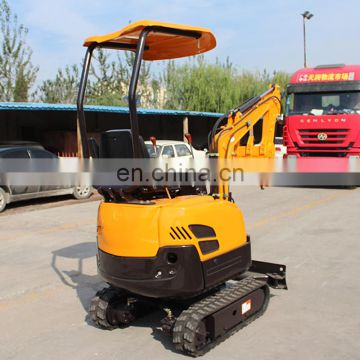 1.5 Ton Walk behind mini excavator with CE certificate