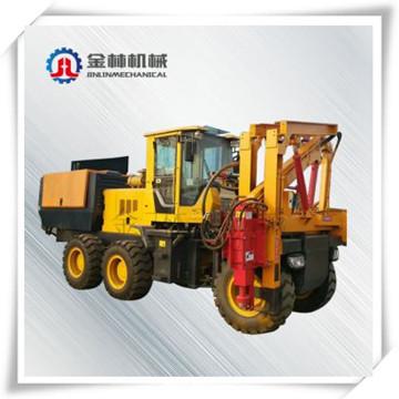 Green / Yellow Pile Drilling Machine